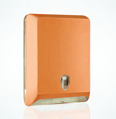 Soft-Line-ORANGE-Z-fold-Hand-Towel-Dispenser