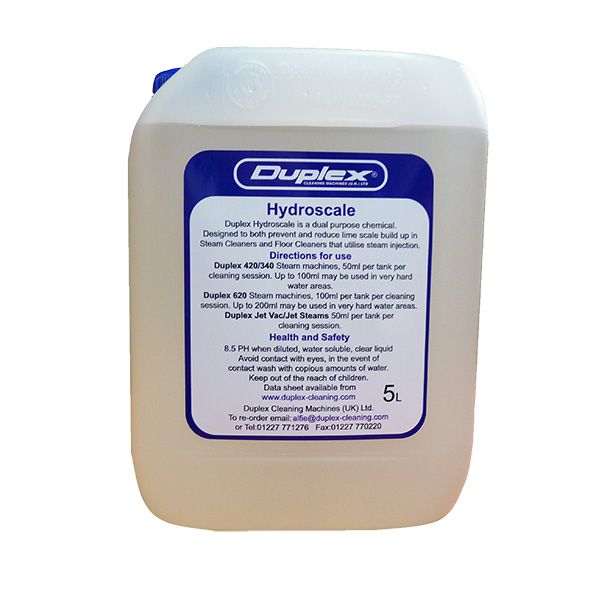Duplex Hydroscale limescale inhibitor 5litre