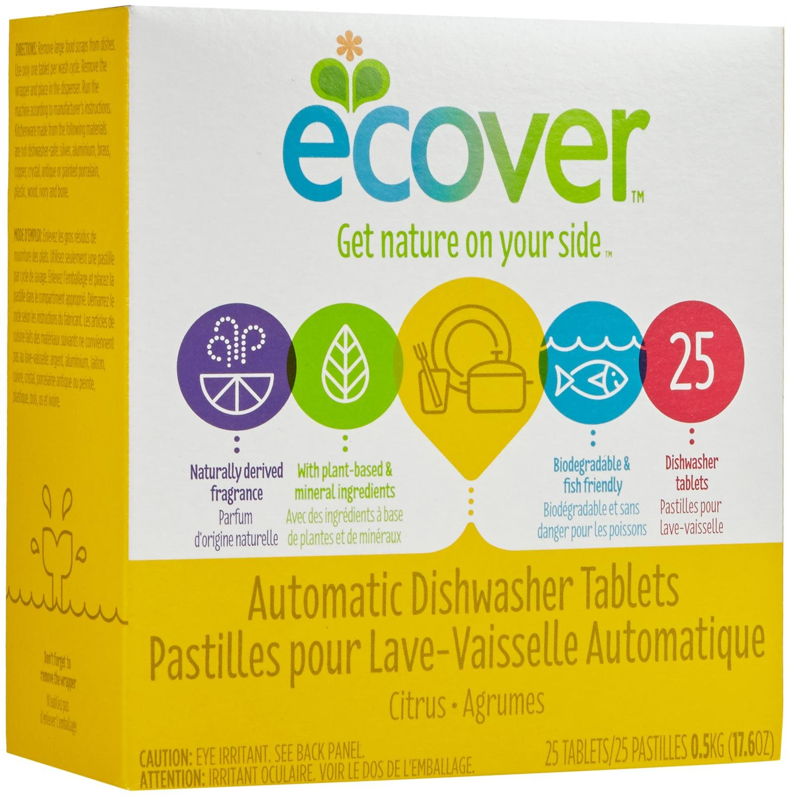 Ecover All-In-One Dishwasher Tablets (case of 25)