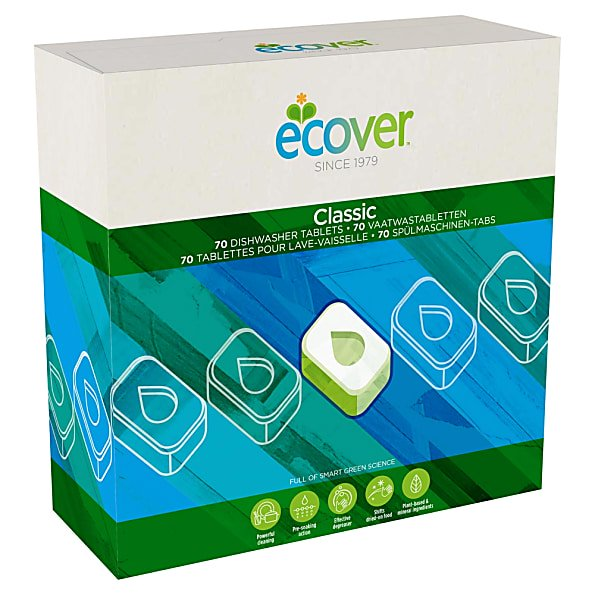 Ecover Classic Dishwasher Tablets (case of 25)