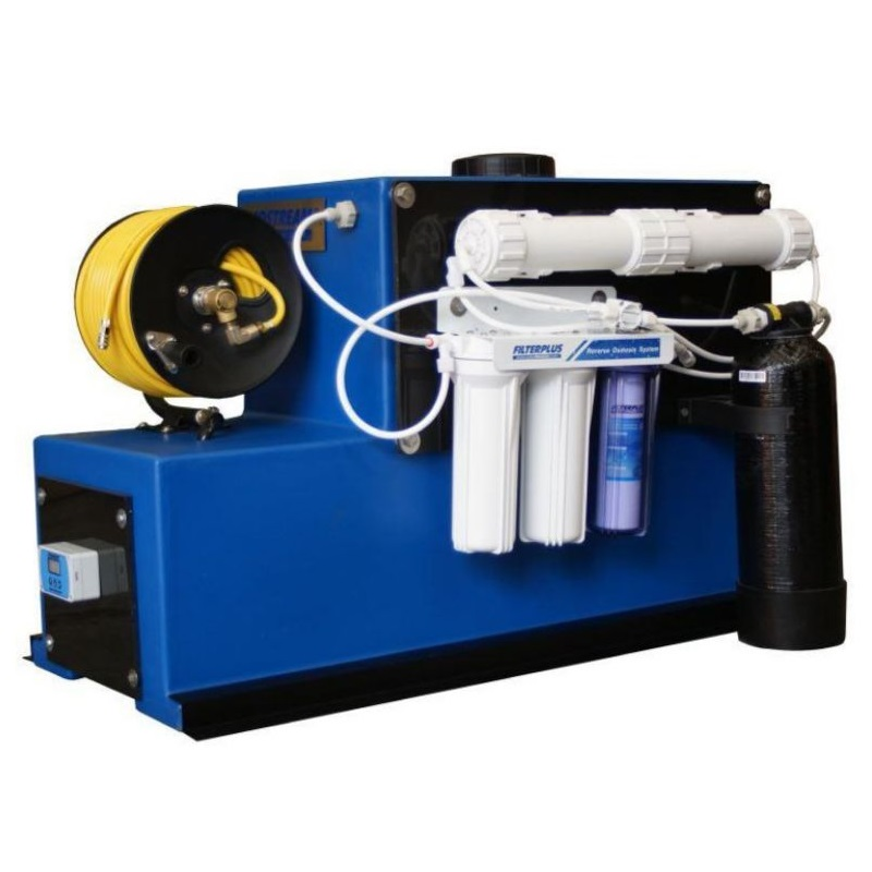 Ecostream-250ltr-System-with-pump--controller--RO-DI-Filter