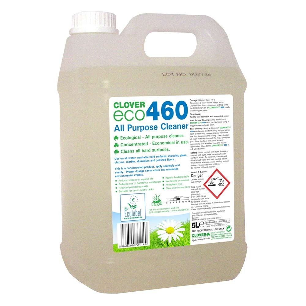 ECO460 All Purpose Cleaner Concentrate 5litre