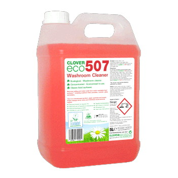 ECO507 Bathroom Cleaner Concentrate 5litre