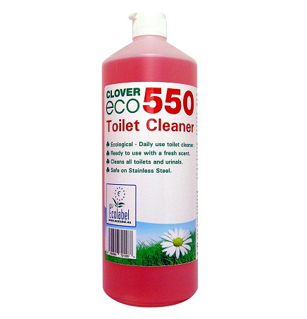 Clover Eco550 Toilet Cleaner 1L (single)