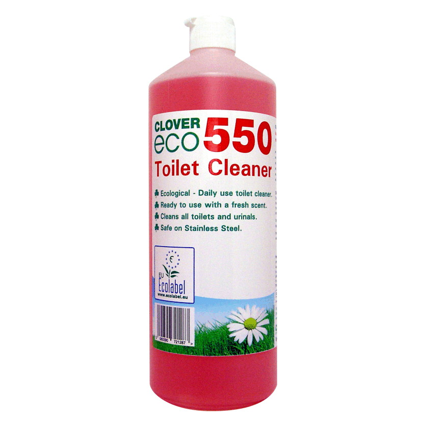 ECO550 Toilet Cleaner 12x1litre
