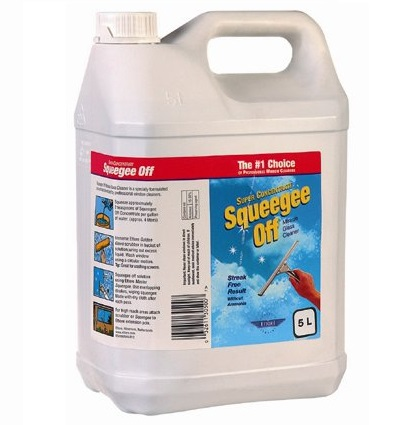 Ettore Squeegee-Off window cleaning liquid 5ltr