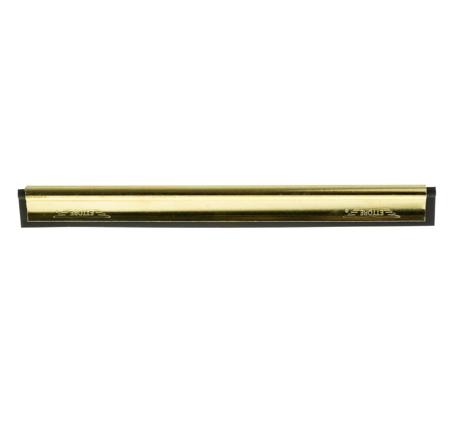 Ettore Master Brass Channel & Rubber 12-inch