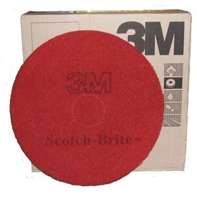 13-inch 3M Premium RED Floor Pads x 5