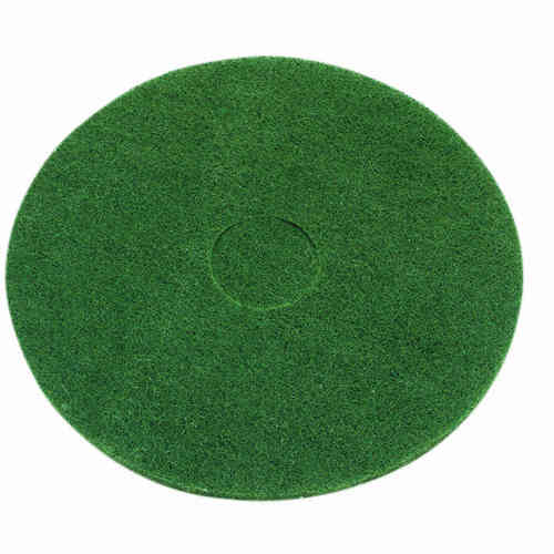 17-inch Contract Green Floor Pads (Box of 5)