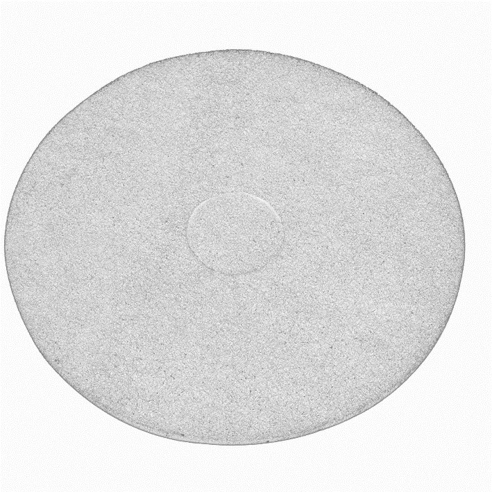 17-inch Contract White Floor Pads (Box of 5)