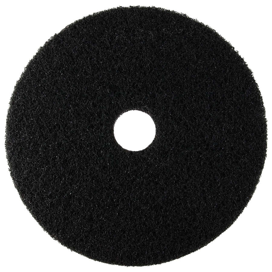 20-inch Contract BLACK Floor Pads (box of 5)