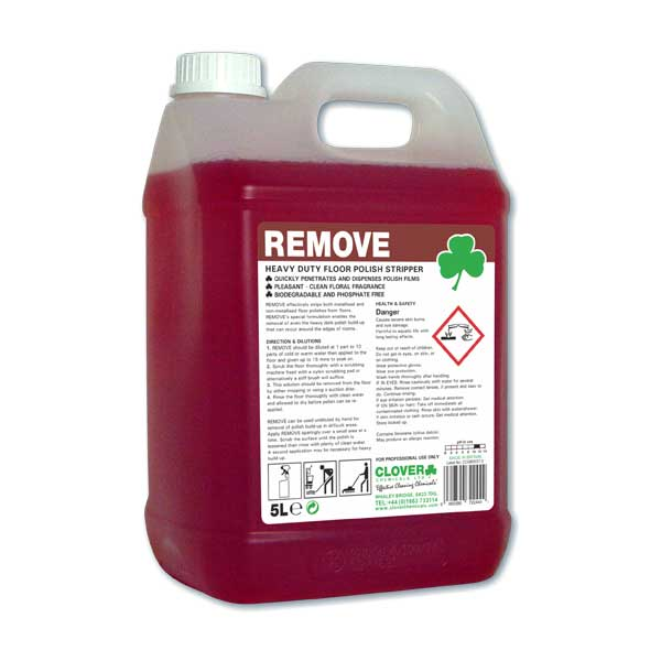 REMOVE - Floor Polish Stripper 5litre