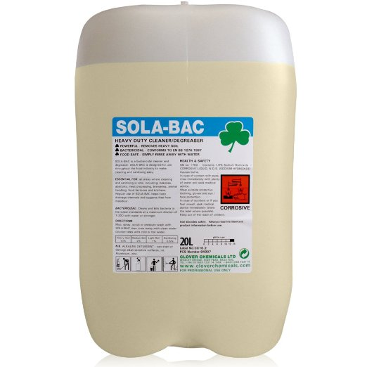 20 litre - SOLA-BAC Heavy Duty Bactericidal Cleaner
