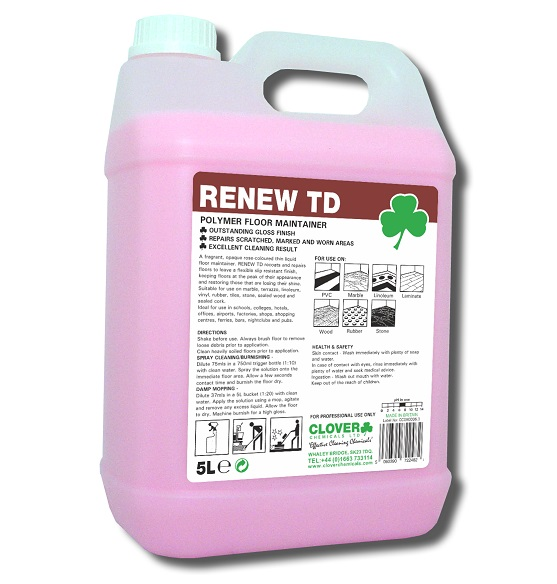 RENEW TD - Polymer Floor Maintainer 5litre