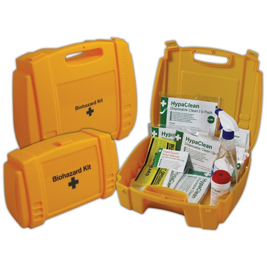 Bio-Hazard 2-application Body Fluid Disposal Kit