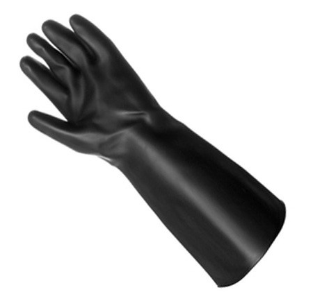 Black Heavy Gloves (pair) SMALL 6-6.5