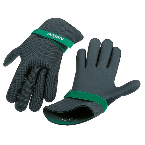 Neoprene gloves large