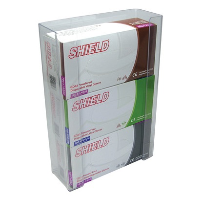 Triple box holder 266x99x392mm