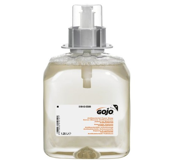 Gojo 5189 Anti-bac Foam Soap 3x1250ml