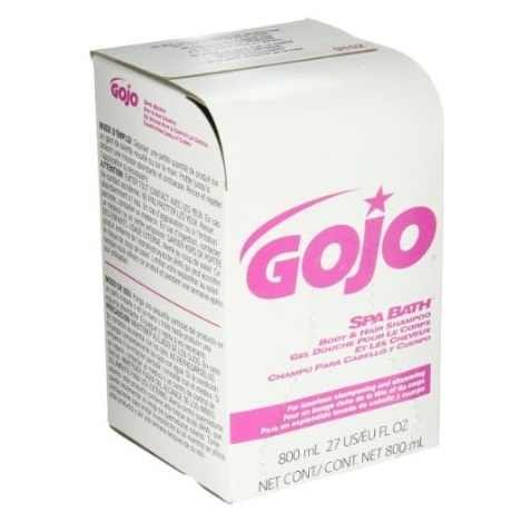Gojo SPA BATH body and hair shampoo 12x800ml