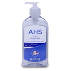 AHS Alcohol Hand Sanitiser 300ml (single)