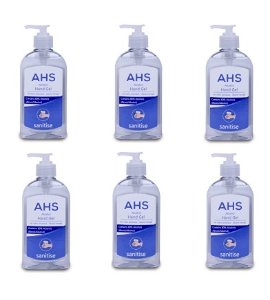AHS Alcohol Hand Sanitiser 6x300ml (case)