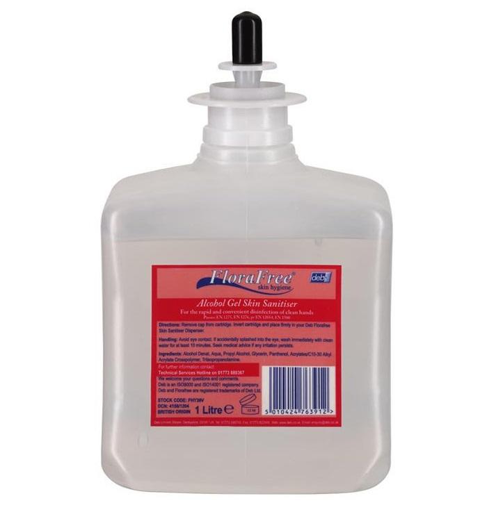 Deb-Florafree---Alcohol-Foam-Skin-Sanitiser-6x1litre