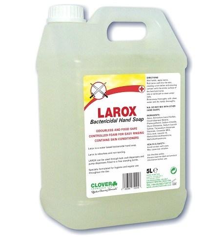 Larox bactericidal hand soap 5litre