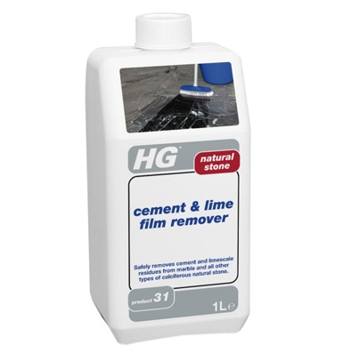 HG Natural Stone Cement and Lime Film Remover 1litre (31)