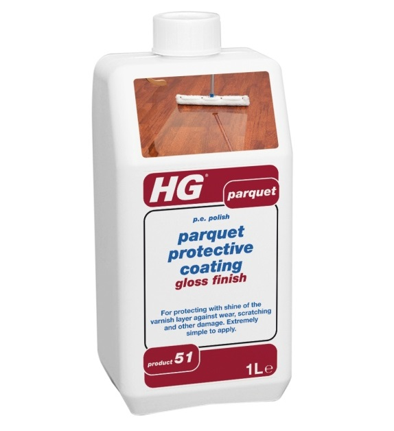 HG Parquet Protective Coating Gloss Finish 1litre (51)