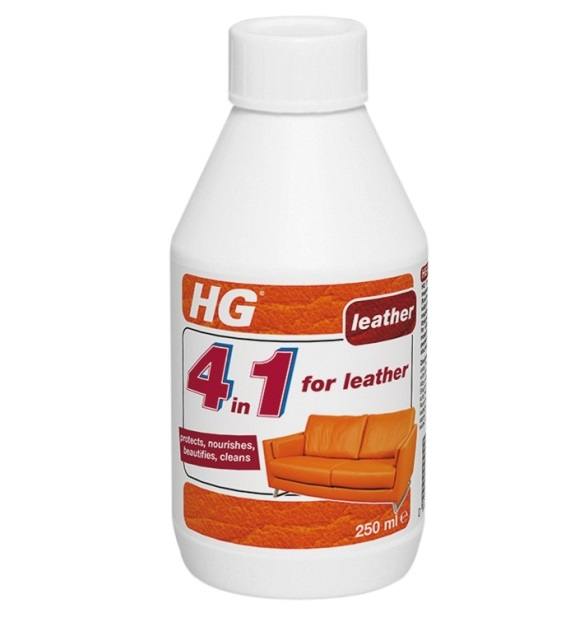HG 4-in-1 Leather Cleaner 250ml