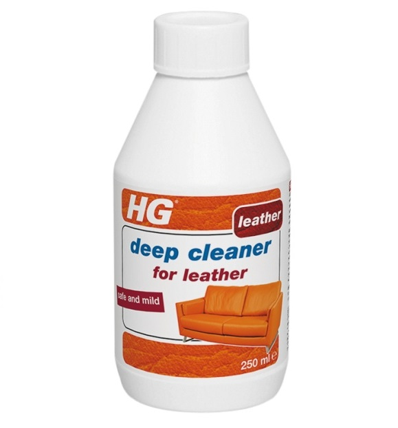 HG Deep Cleaner of Leather 250ml