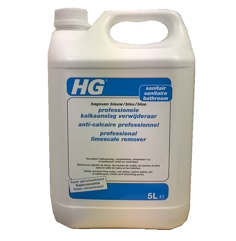 HG Professional Limescale Remover (Hagesan Blue) 5litre