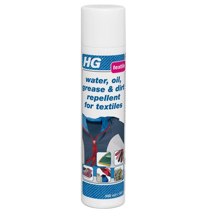 HG Water, Oil and Dirt Repellent for Textiles 300ml