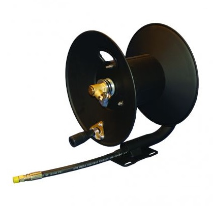 Hose reel - supplied with 50m 6mm microbore hose
