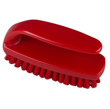 Grippy-Nail-Brush--medium---Red