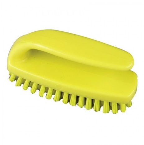 Grippy Nail Brush Yellow