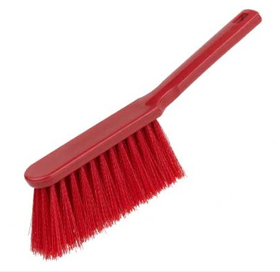 Banister Brush, soft - RED
