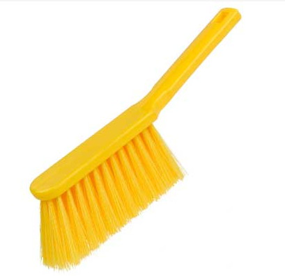 Banister-Brush--soft---YELLOW