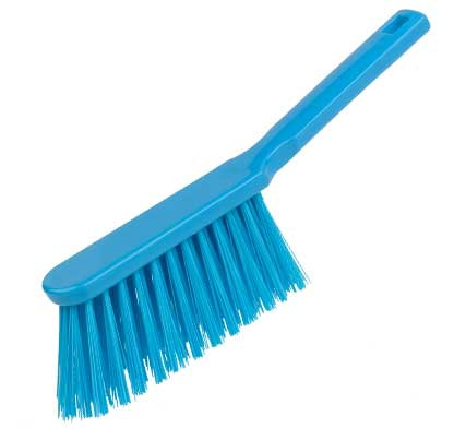 Banister Brush, stiff - BLUE