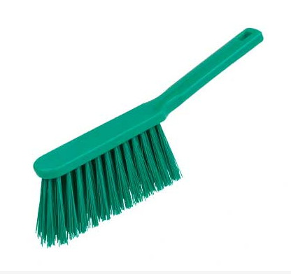 Banister Brush, stiff - GREEN