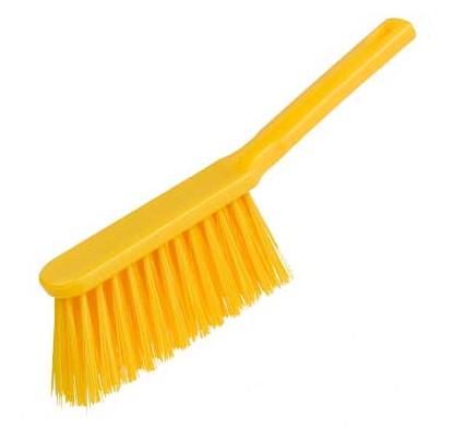 Banister Brush, stiff - YELLOW