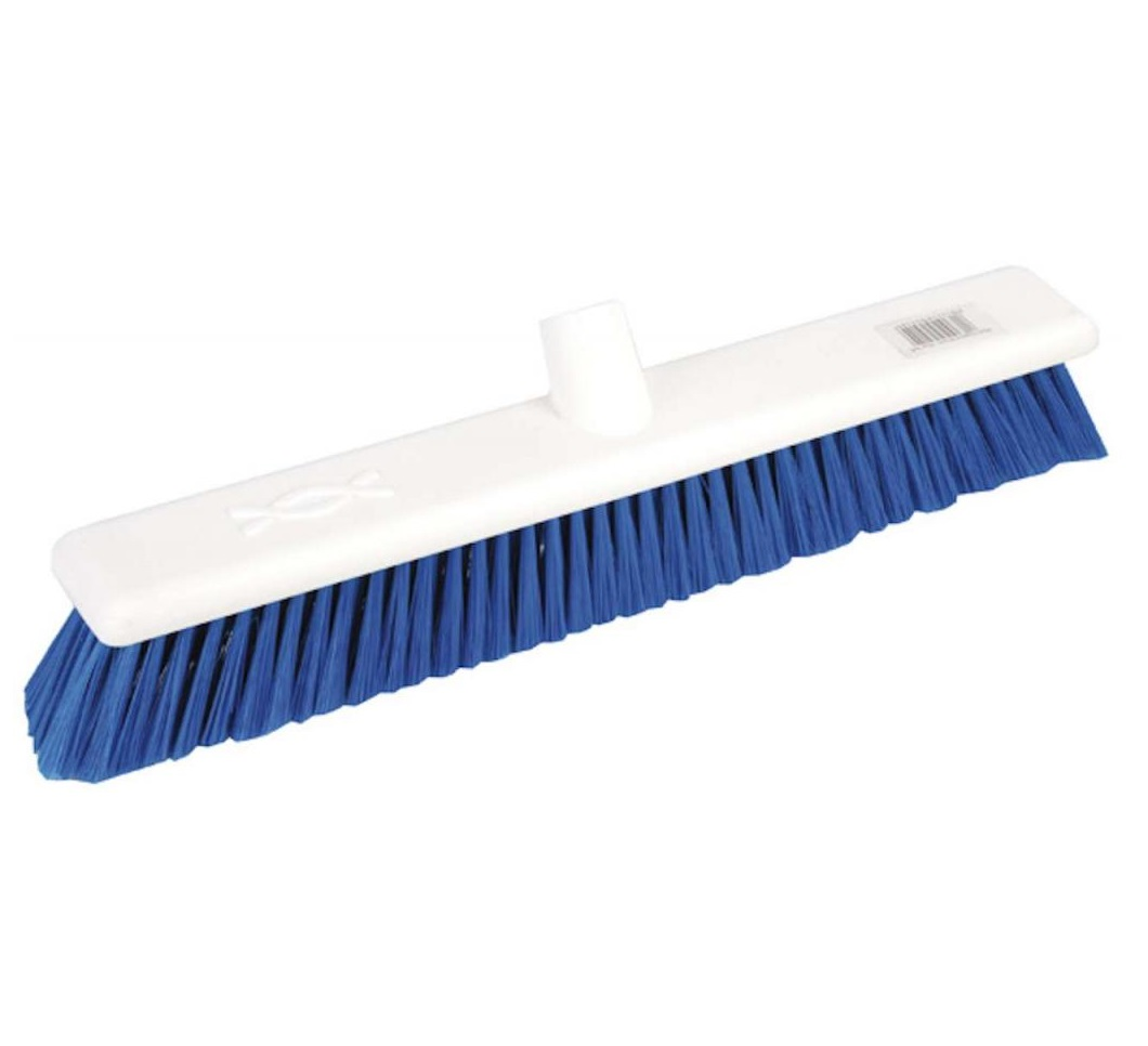 18-inch Blue SOFT Abbey Hygiene Broom Head