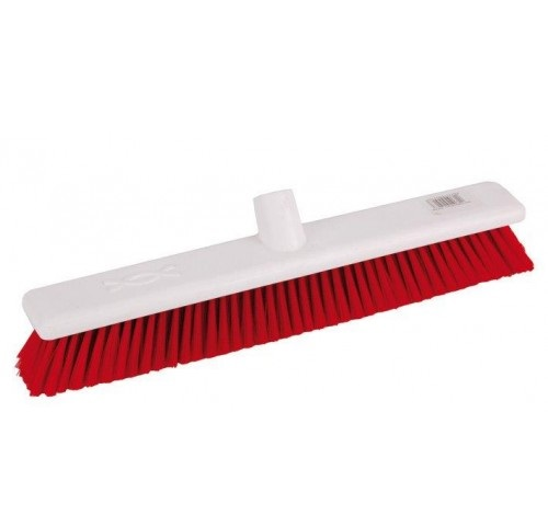 18-inch Red SOFT Abbey Hygiene Broom Head