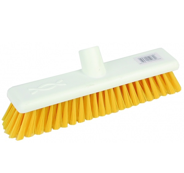 12-inch Yellow SOFT Abbey Hygiene Broom Head