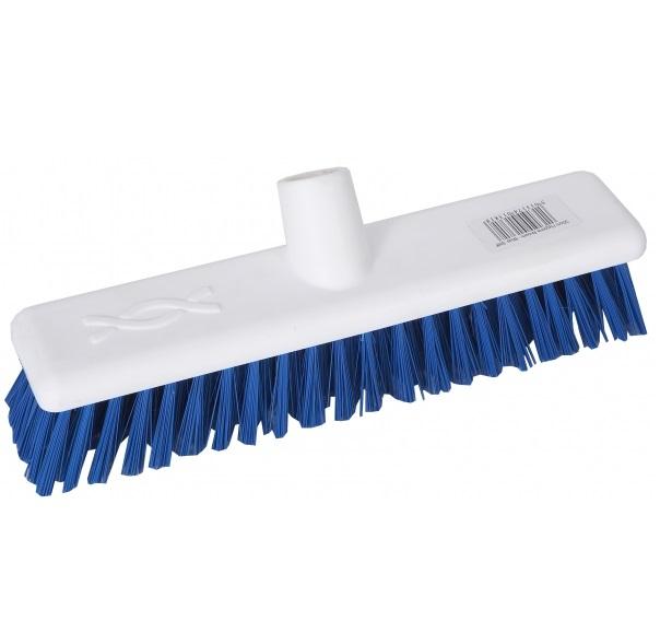 9-inch Blue DECK SCRUB Abbey Hygiene Broom Head