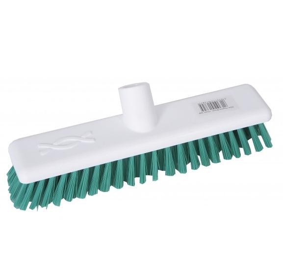 9-inch Green DECK SCRUB Abbey Hygiene Broom Head