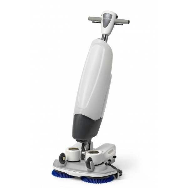 Imop XL 46cm Scrubber Dryer System with 2 batteries, battery charger and 2 poly brushes