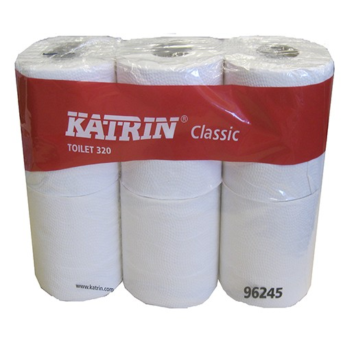 Katrin Classic 320-sheet toilet roll