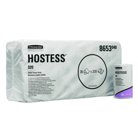 KC8653-Hostess-320sh-Toilet-Roll-2ply-36-rolls